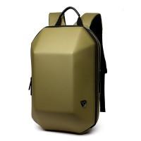NEW ! Men Black Hard Shell Backpack Anti Theft Laptop Backpack Large