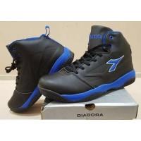 Basket Dribling Diadora Sepatu Original Black Model Baru - Blue