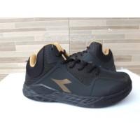 Sepatu ORIGINAL Gold Basket Black DIADORA NELSON