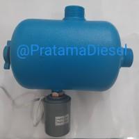 Tabung plastik+ otomatis komplit pompa air sanyo nasional shimizu