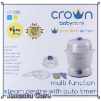 Mesin Uap Digital Crown Mesin Pensteril dan Penghangat Makanan Bayi