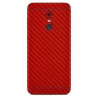 Premium Skin - Xiaomi Redmi 5 Plus - 3M Red Carbon