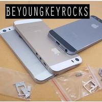 Casing Fullset Backdoor Tutup Belakang iPhone 5S Original