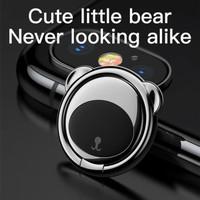 BASEUS RING HOLDER STAND BEAR SHAPE MAGNETIC PHONE GRIP METAL IRING