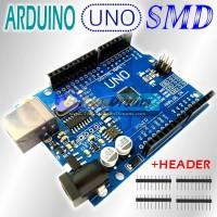 Ekonomis: UNO SMD R3 ATMEGA328 CH340 Arduino Compatible + Pin Header
