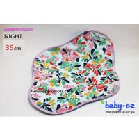 Baby Oz Menspad Menstrual Pad Night 35cm Pembalut Kain Cuci Ulang