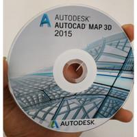 Autodesk AutoCAD Map 3D 2015 plus Tutorial Dasar sampai Mahir