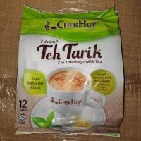 Chek Hup 3 in 1 Malaysian Tea (Teh Tarik) Malaysia @12 sachet