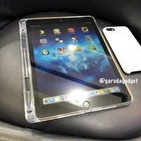 Soft Silicone Apple iPad 5 6 9.7 2017 2018 Pencil Case Cover Clear