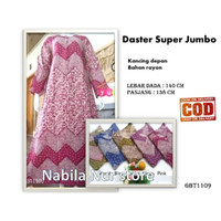 Eeran.... baju tidur wanita / piyama / daster murah Long dress Jumbo - Hijau muda