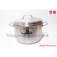 Panci Saus Besar Stainless Steel Sauce Pot Chef Basic Zebra 260136
