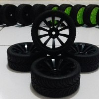 R026 RC On Road tires, ban RC velg 1:10