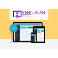 Software Aplikasi Penjualan Berbasis Web PHP Codeigniter
