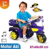 Mainan Motor Aki Anak Yotta Halilintar