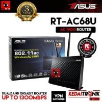 ASUS RT-AC68U Dual Band GIGABIT Router AC1900 4G USB VPN Manage AP AC