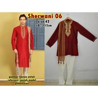 Sherwani Dewasa (1) / Baju Pengantin Pria India