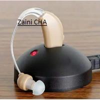 Alat Bantu Dengar Pendengaran Praktis Non Batre Cantol Bion F88 cas