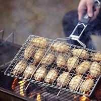 Pencapit/Penjepit Panggangan Ikan,Cumi,Ayam Bakar / Barbeque Grilling