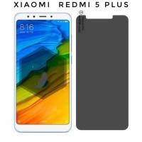 Tempered Glass Anti Spy XIAOMI REDMI 5 PLUS Privacy Screen Protector