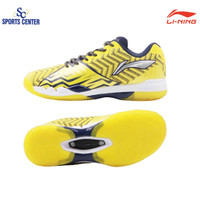 NEW !! Sepatu Badminton Lining SONIC BOOM AYAN 019 / AYAN019 Yellow