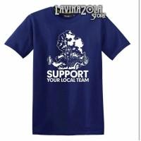 Tshirt baju kaos spport your local team football persib bandung persij