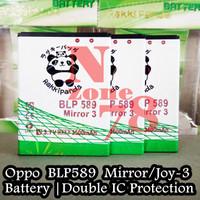 Baterai Oppo BLP589 Oppo Mirror 3 Rakkipanda Double Power Protection