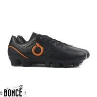 Sepatu Bola OrtusEight Genesis FG Black Original sport murah