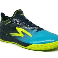 Sepatu Futsal SPECS METASALA MUSKETEER Black Cocktail Blue Solar