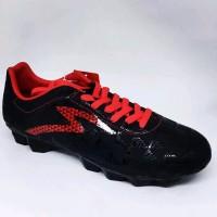 Sepatu bola Specs murah quark fg Warna black emperor red origina