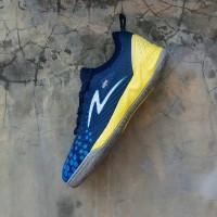 Sepatu Futsal Specs Metasala Knight Galaxy Blue Tulip Blue Yellow