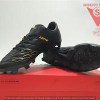 SEPATU BOLA - LOTTO SQUADRA FG ORIGINAL L01010010 BLACK NEW 2018