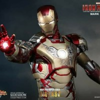 Hot toys ironman iron man MMS 197 diecast mark 42 mark XLII