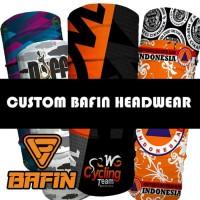 Bafin Bandana headwear Custom (satuan)