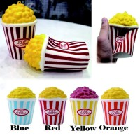 Mainan Squishy Model Slow-Rising Bahan PU Elastis Bentuk Popcorn