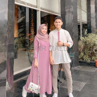 DRESS MAXI BAJU DRESS FARZANA SET DRESSS COUPLE
