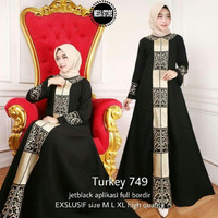 abaya/gamis bordir