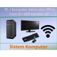 Paket HEMAT PC Rakitan Core i5 SSD 120GB Lengkap Admin / Kantor - 4