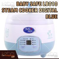 Baby Safe LB010 Digital Steam Cooker Blue Alat Masak Kukus Makanan