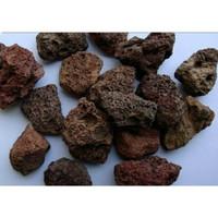 Batu Lava Rock Lava Rough Aquarium Aquascape isi 1 kg
