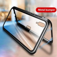 Case Casing Magnet Anti Baret Cover Xiaomi Redmi Note 5 Note 5 pro - Hitam