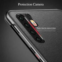 Premium Flip Cover Huawei P30 Pro Leather Mirror Case Autolock Casing