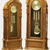 Grandfather Clock / Jam Berdiri Jerman Ukiran Jepara