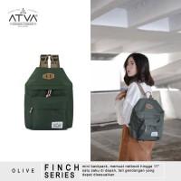 ORIGINAL ATVA FINCH OLIVE | Tas Ransel Wanita - Tas Ransel Mini