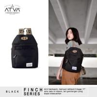 ORIGINAL ATVA FINCH BLACK | Tas Ransel Wanita - Tas Ransel Mini