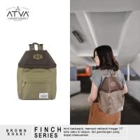ORIGINAL ATVA FINCH BROWN-KHAKI | Tas Ransel Wanita - Tas Ransel Mini