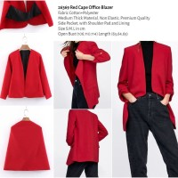 Red Cape Office Blazer (size S,M,L) -26369