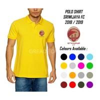 Kaos Kerah Pria Kaos POLO SHIRT SRIWIJAYA FC BAJU COWOK BAJU POLO