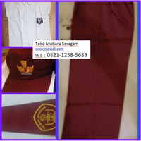 Paket seragam sekolah SD baju pendek celana panjang siswa kelas 1-3