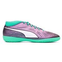 sepatu futsal puma one 2.4 IT hijau olahraga