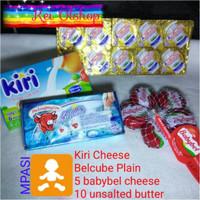 Paket MPASI, UB Elle vire Cup + babybel + Belcube + KIRI